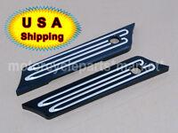 Deep Cut Saddlebag Latch Cover For Harley Road King Street Glide 14 15 16 17 Usa