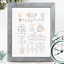 Personalised-Birth-Print-for-Baby-Boy-Girl-New-Baby-Gift-or-Christening-Present thumbnail 26
