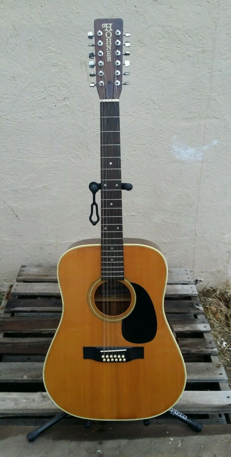 Vintage HOHNER HG12L..60's 70's Acoustic Guitar MIJ