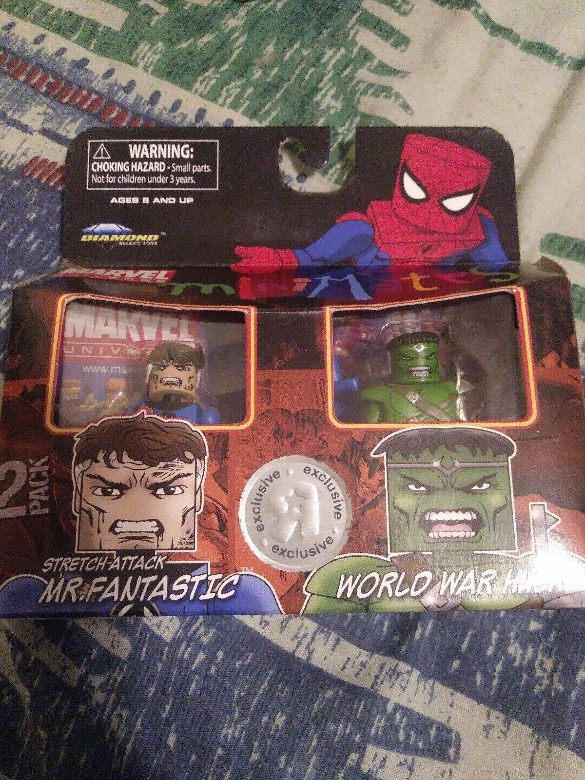 World War Hulk Fantastic Marvel Minimates Toys R Us Wave 06 Stretch Attack Mr