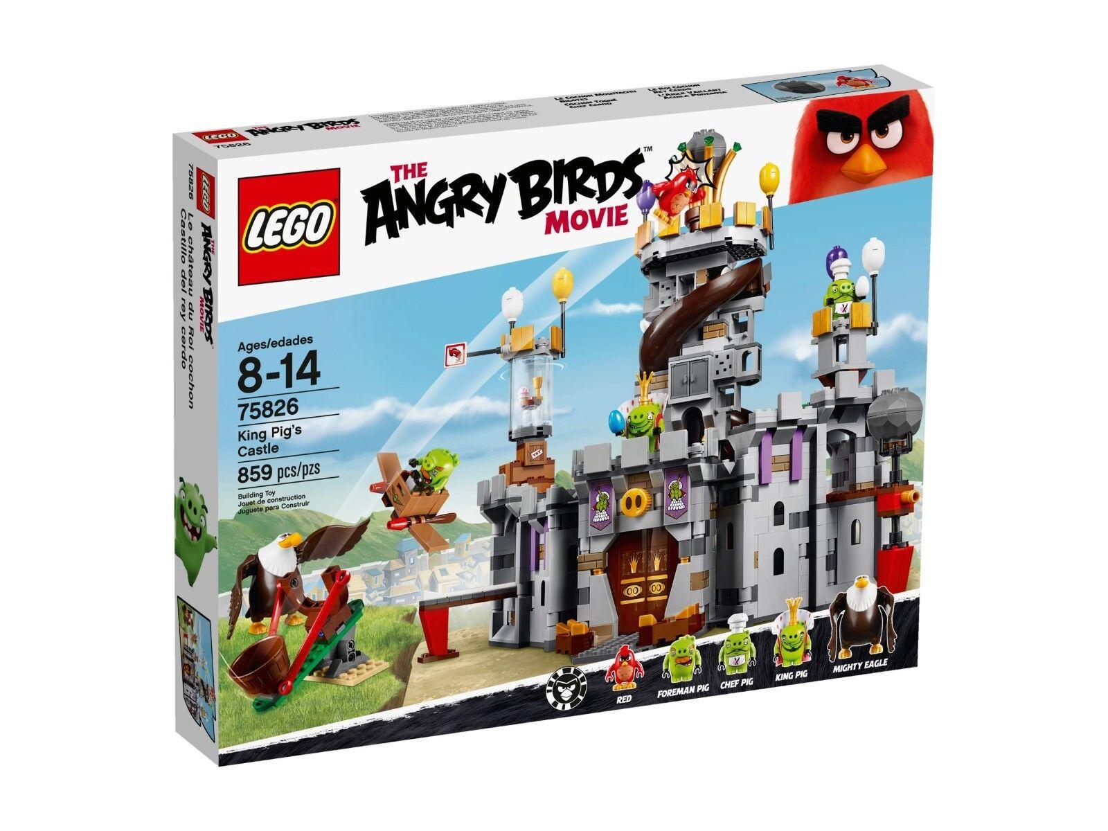 LEGO® Angry Birds™ 75826 King Pig´s Castle - NEU & OVP -