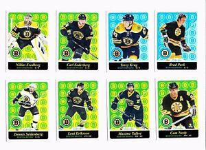 2015-16-O-Pee-Chee-Retro-Boston-Bruins-Hockey-Cards