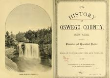 1877 OSWEGO County New York NY, History and Genealogy Ancestry DVD CD B25