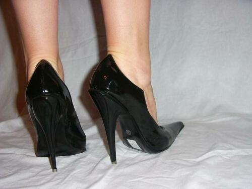 pumps producer Poland Promotion heels 13cm-grobe 35-47 High heels