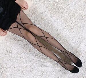 Fashion-Sexy-Black-Fishnet-Pattern-Jacquard-Stockings-Pantyhose-Tights-for-Women