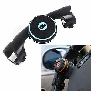 Car-Steering-Wheel-Knob-Power-Handle-Spinner-Suicide-Easy-Turn-Concept-Safe-Blue