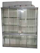 Glass Store Display Showcase Glass Doors Shelves 83x695x19 In Pickup Only