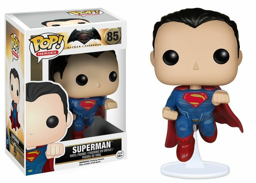 FONKO POP HEROES BATTMAN MOT SUPERMAN SUPERMAN