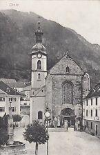 Chur AK 1919 Panorama mit Kirche Schweiz Suisse Svizzera 1610393