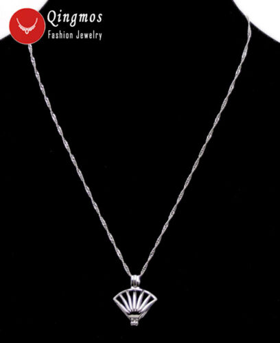 Wish Pearl 20mm Shell Cage Chokers Necklace for Women Pendant  Oyster Love Pearl