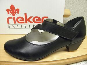 RIEKER ® reduziert Top Preis Slipper schwarz superbequem