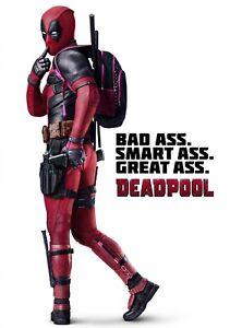 DEADPOOL-Movie-PHOTO-Print-POSTER-Film-Ryan-Reynolds-Bad-Ass-Glossy-Art-002