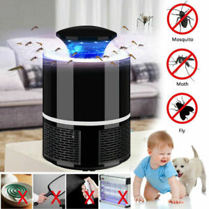 Electric UV Mosquito Killer Lamp Outdoor//Indoor Fly Bug Insect Zapper Trap USB