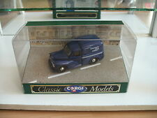 "Corgi Classics Morris 1000 Van ""Guerrnsey Post Office"" In blue on 1:43 in Box"
