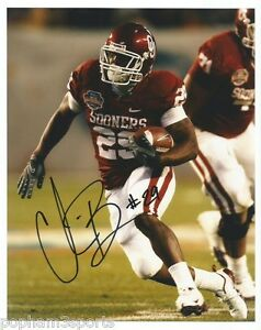 CHRIS BROWN Signed/Autographed OKLAHOMA SOONERS 8x10 Photo ...