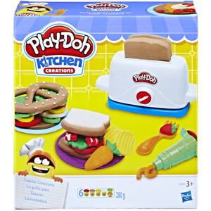 Pate-a-modeler-Play-Doh-Le-Grille-Pain
