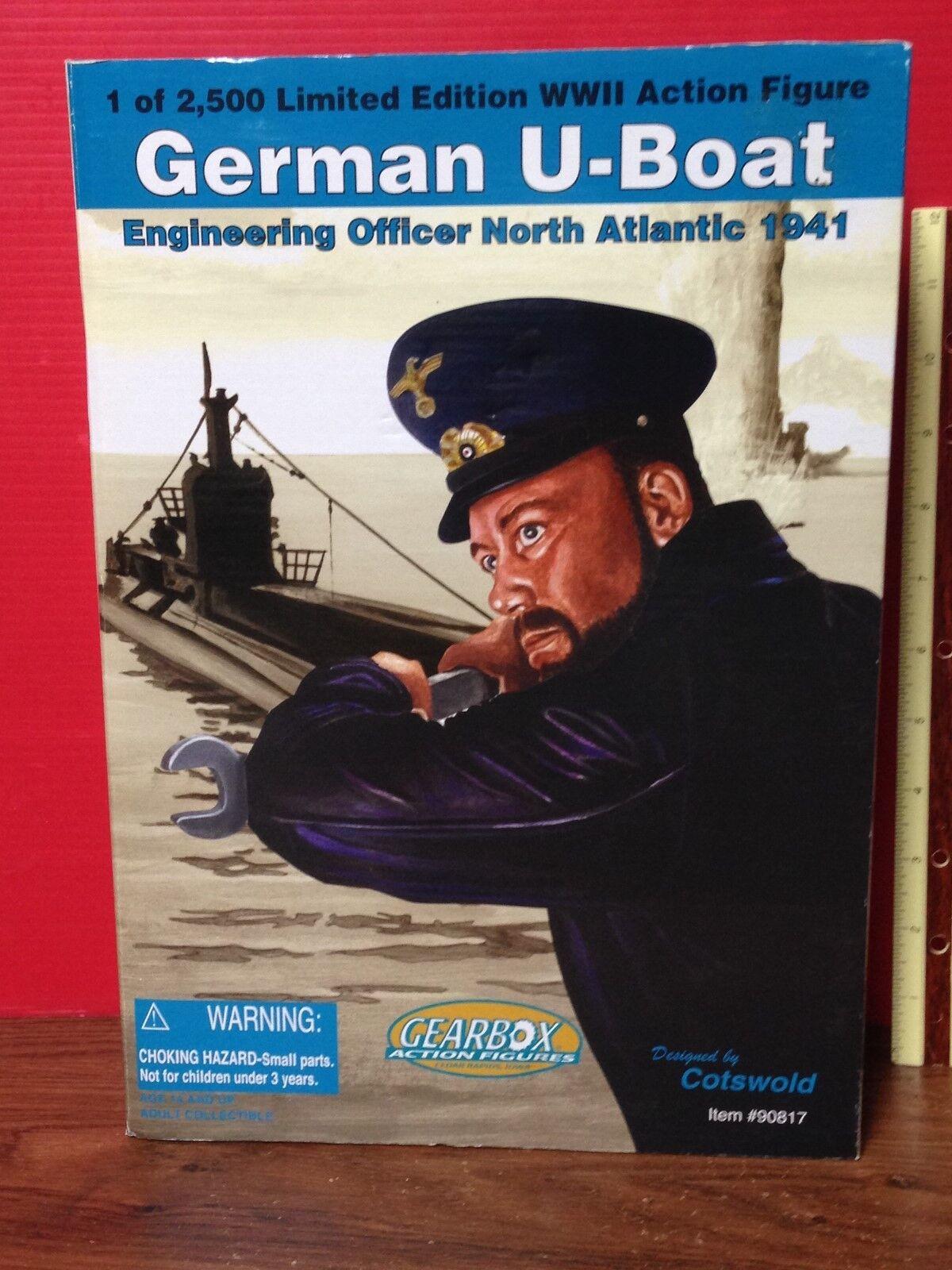 2002 Gearbox German U-Boat Engineering Officer North Atlantic 1941 Action Figure