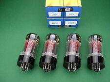 4 x 6550 JJ ELECTRONIC factory matched quad ~ KT88 -> tube amp Röhrenverstärker