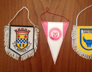 St-Mirren-Pennant-Fanion-Hamilton-Academical-Football-Club-Wimpel-Vintage-Retro