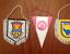 St-Mirren-Pennant-Fanion-Hamilton-Academical-Football-Club-Wimpel-Vintage-Retro thumbnail 1