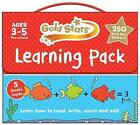 Gold Stars Learning Pack Ages 3-5 Pre-school: Learn How to Read, Write, Count and Add by Parragon Books Ltd (Mixed media product, 2014)