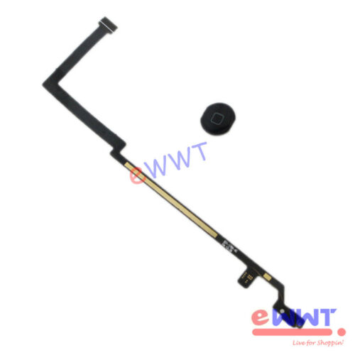 for iPad-AIR A1474 A1475 A1476 Replacement Black Home Button Flex Cable ZVFE378