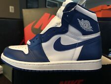 best service 53d85 45b90 item 4 Nike Air Jordan Retro 1 High OG Storm Blue 555088 127 Size 8 RARE  AUTHENTIC -Nike Air Jordan Retro 1 High OG Storm Blue 555088 127 Size 8  RARE ...