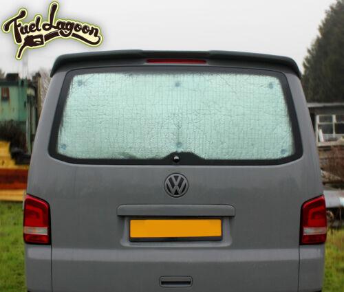 VW T5 Thermique Hayon Pare-Brise Noir des Aveugles Fenêtre Rideau de Luxe Argent