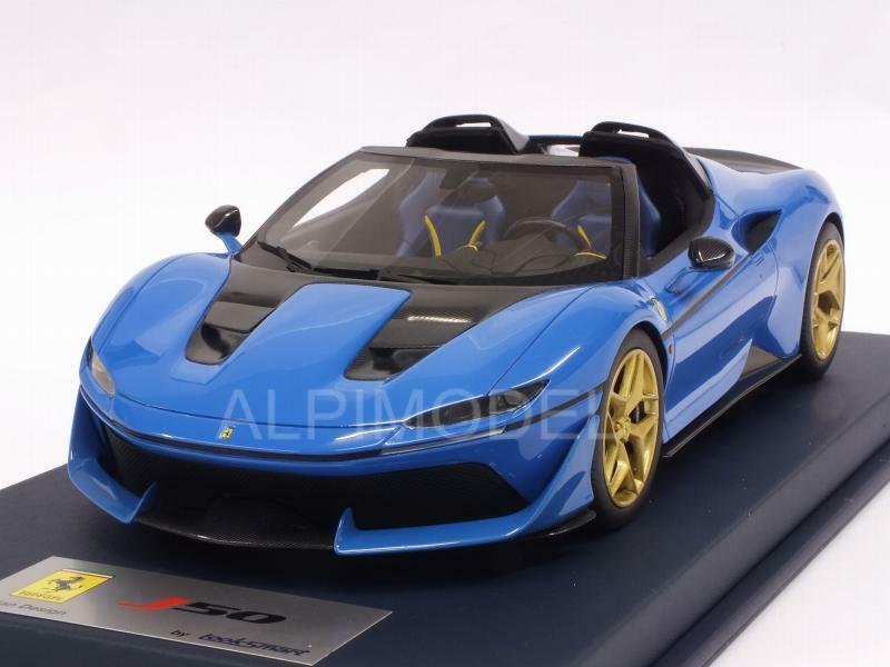 Ferrari J50 French Racing bleu Shiny 1 18 LOOKSMART LS18016C