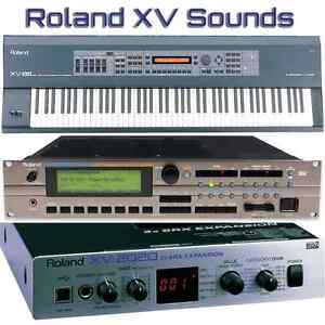 Yamaha Motif Xs 6 Roland-XV-88-XV-2020-XV-3080-XV-5050-XV-5080-Largest-Sound-Collection