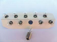 (0,46€/Einheit) 10 x NARVA® 24V 4W T4W Sockel BA9s Glühlampen Standlicht