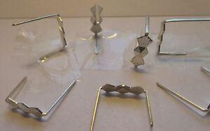 200-Connectoren-8-mm-silberfarben-Prismen-Clips-Verbindungsclips-Luesterbehang-10