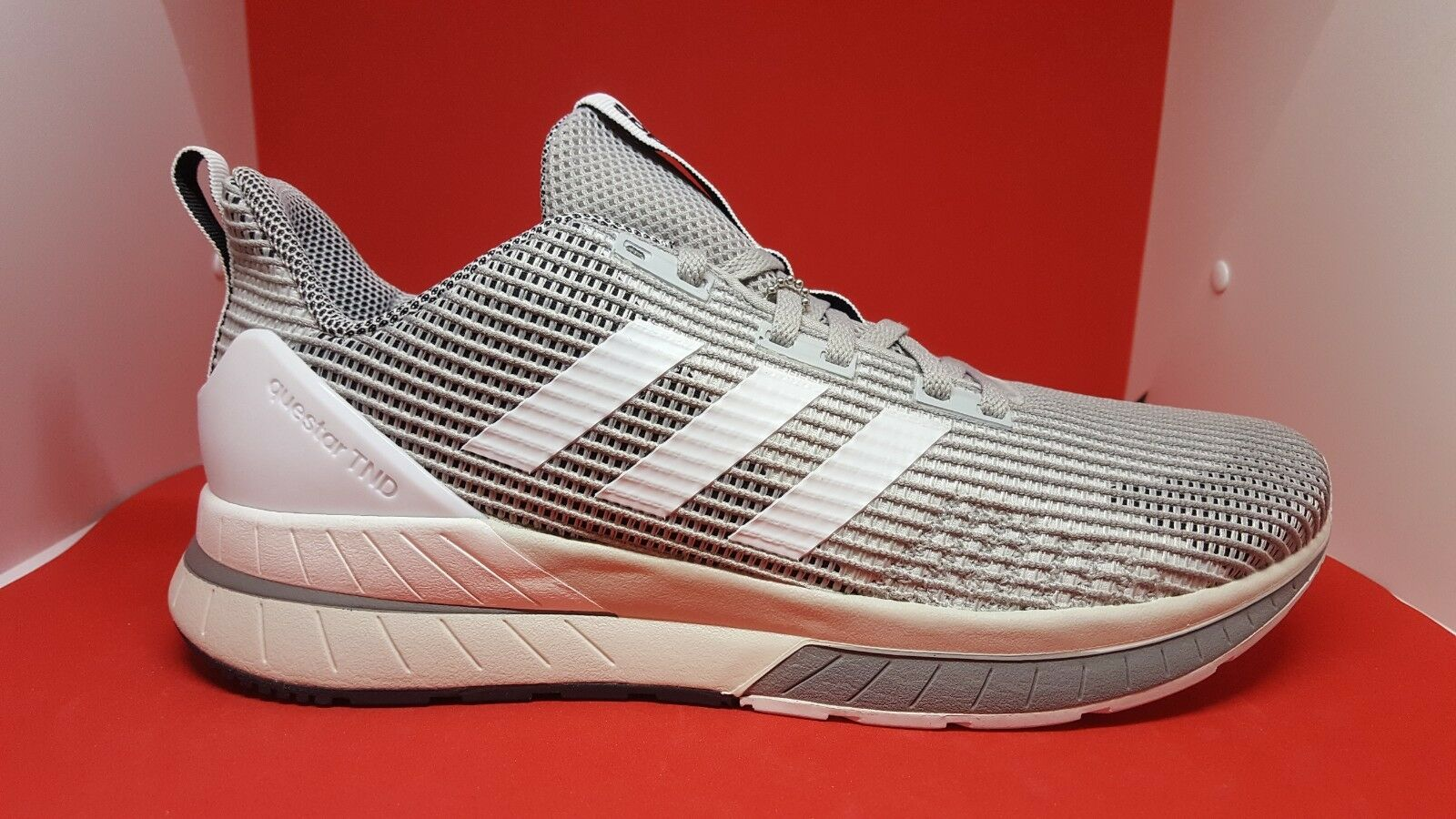 Adidas uomini sz sz uomini 8,5 questar e scarpe da corsa db1624 grigio 1d00c0