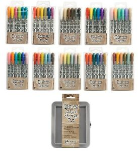 Tim-Holtz-Ranger-Distress-Crayons-Kits-amp-Storage-Tin-All-kits-from-1-10