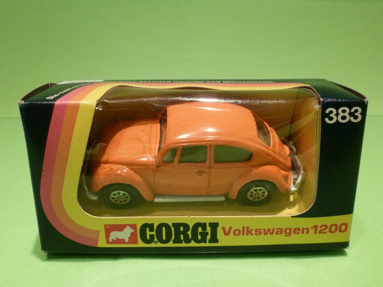 Esperando por ti CORGI TOYS 383 VW VOLKSWAGEN KAFER BEETLE - naranja naranja naranja 1 43 -  VERY GOOD IN BOX  comprar mejor