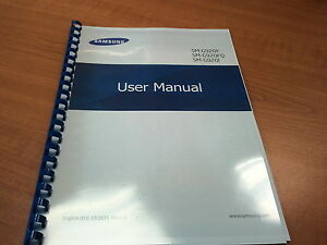 Samsung Galaxy Tab S6 T860 User Manual