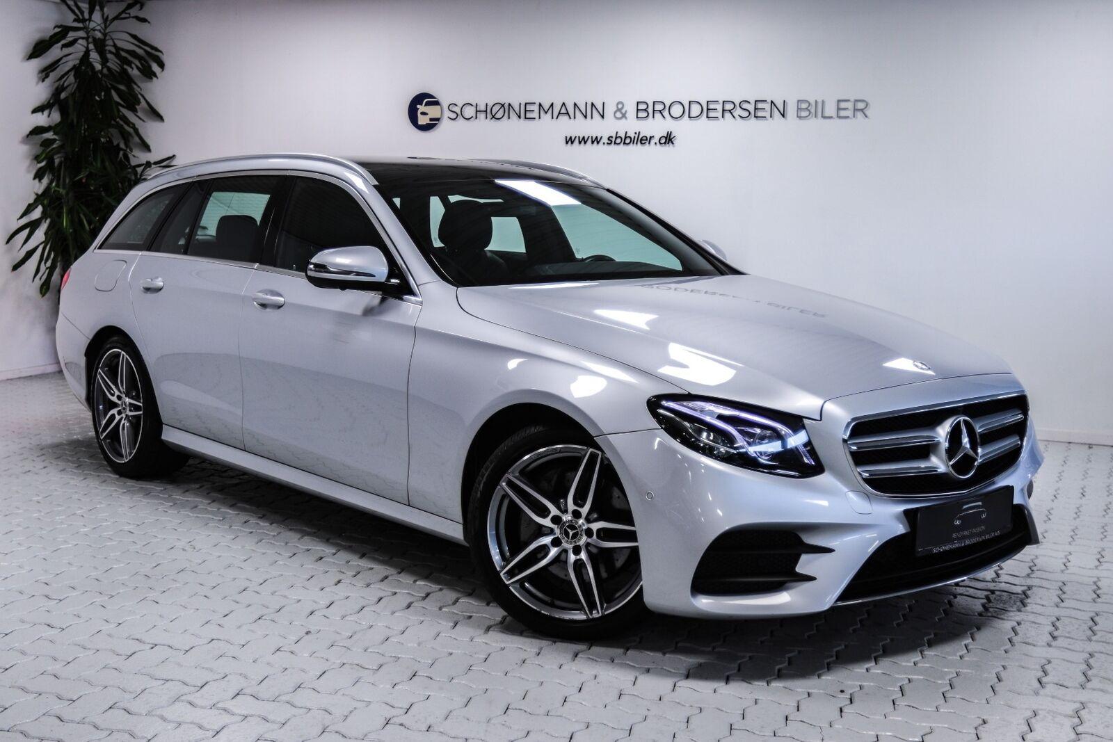 Mercedes E220 d 2,0 AMG Line stc. aut. 5d - 549.900 kr.