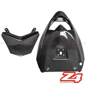 2011-2015 Ninja ZX-10R Rear Chain Mud Guard Cover Fairing Cowling Carbon Fiber