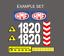 Sticker-aufkleber-Crane-HMF-250-503-1820-2820-1563-623-2820-ALL miniatura 1