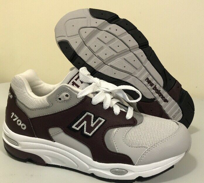 New Balance M1700 Maroon Mens sz 7 Womens 8.5 red Made in USA