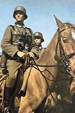 WW2 - Cavaliers allemands en Belgique en mai 1940