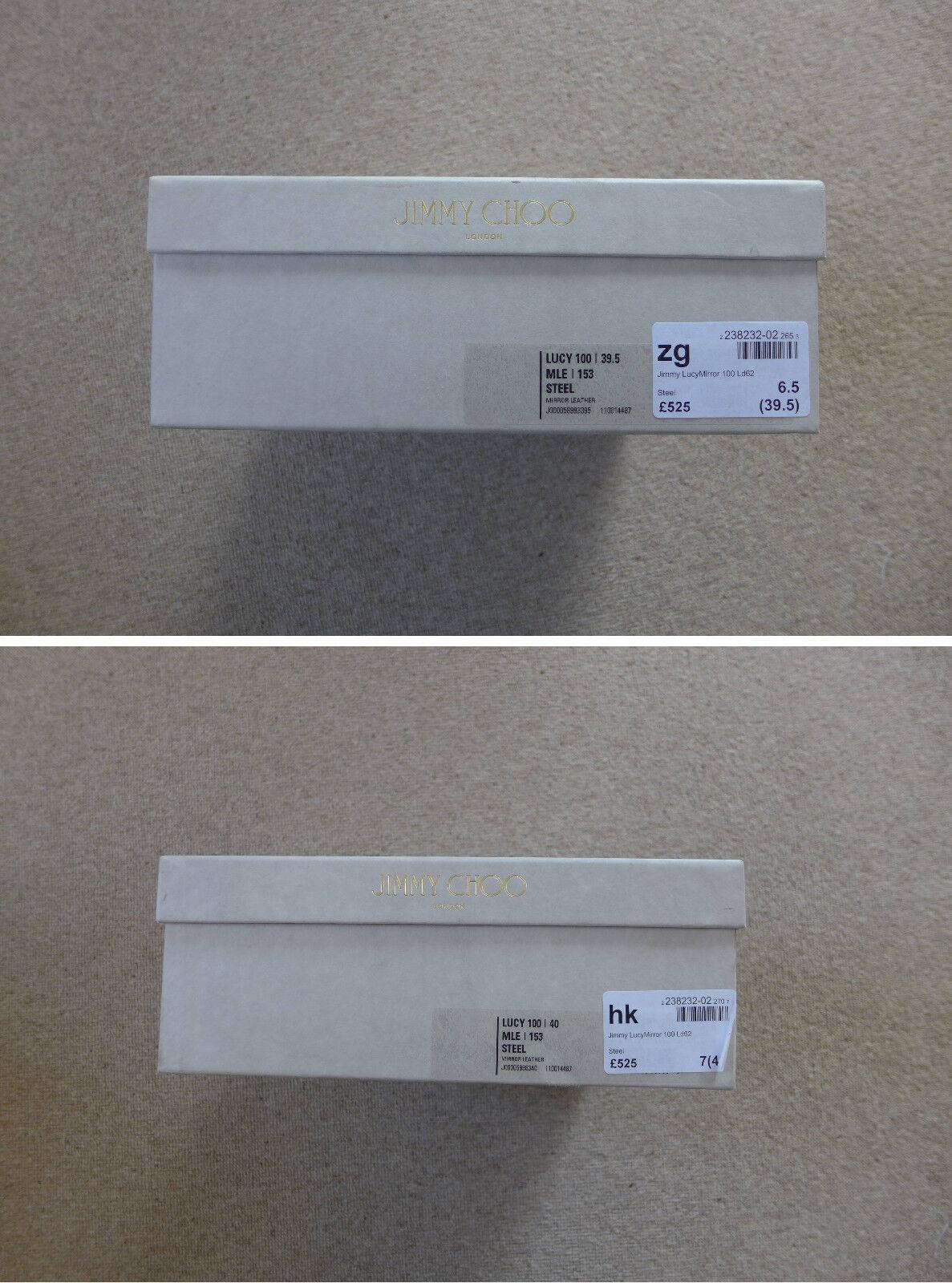 Jimmy Choo Lucy 100 Steel Pumps Heels, new Größes EU39.5/UK6.5 & EU40/UK7 - Brand new Heels, d7cce2