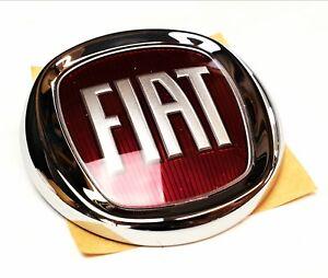 Humble Fiat Grande Punto Panda Doblo Hayon Arriere Rouge Boot Badge Genuine 6001073020-afficher Le Titre D'origine ChronoméTrage Ponctuel
