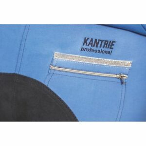 Kantrie-Professional-Princess-Damen-Reithose-3-4-Vollbesatz-Gr-42-blau