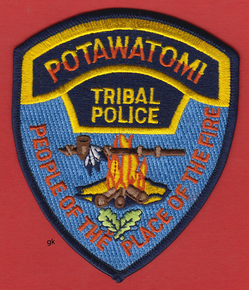 NEW! Comanche Nation Numunu Indians OK Oklahoma Tribal Police hat//breast patch
