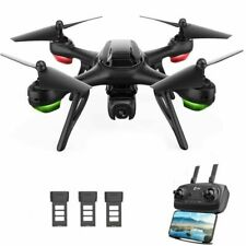 Holy Stone HS130D GPS Drone with 2K FHD Camera Video RC Quadcopter 3 Batteries