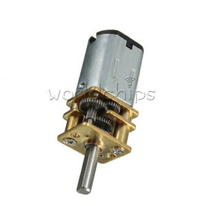 DC-6V-30RPM-Micro-Speed-Reduction-Gear-Motor-with-Metal-Gearbox-Wheel-Shaft