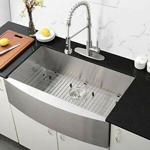Sinoartizan Luxury 30-inch Farm Apron Sink SingleBowl ...