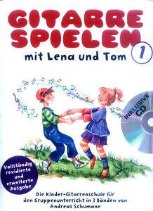 Andreas-Schumann-Gitarre-spielen-mit-Lena-und-Tom-1-Noten-mit-CD