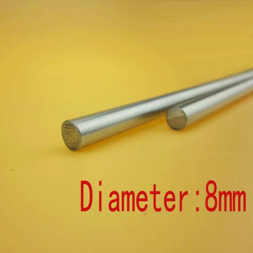 6mm 8mm 10mm 12mm CNC 3D Printer Axis Chromed Smooth Rod Steel Linear Rail Shaft